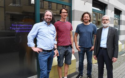Referenten der Diakonie Mitteldeutschland zu Besuch in der Wärmestube